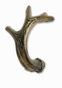 Cabinet Hardware | Moose Antler Drawer Pull Knob - Right ...