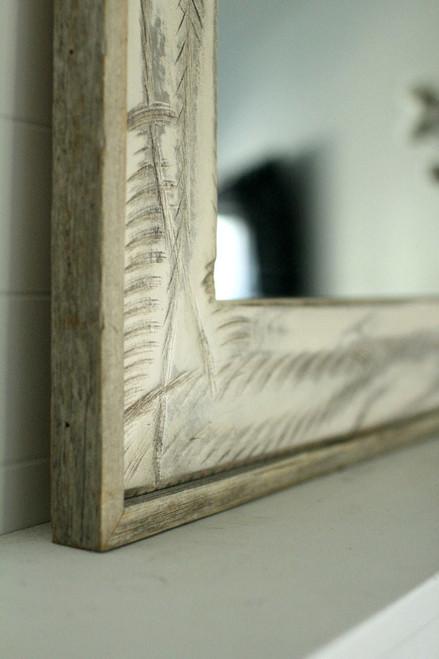 Rustic Mirrors  Denali Heavily Distressed  Free Shipping