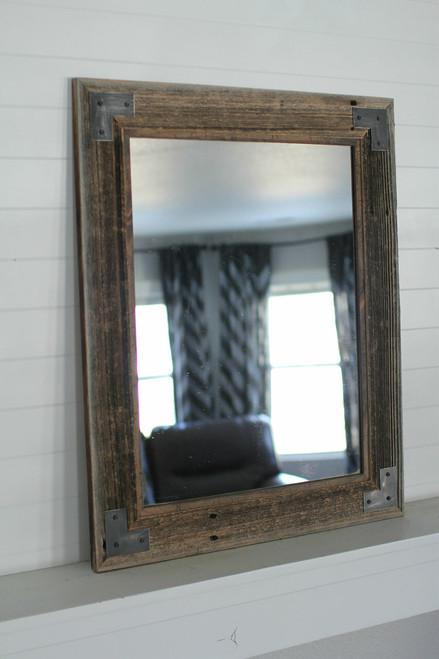 Industrial Mirror With Modern Farmhouse Style Montana Mirror