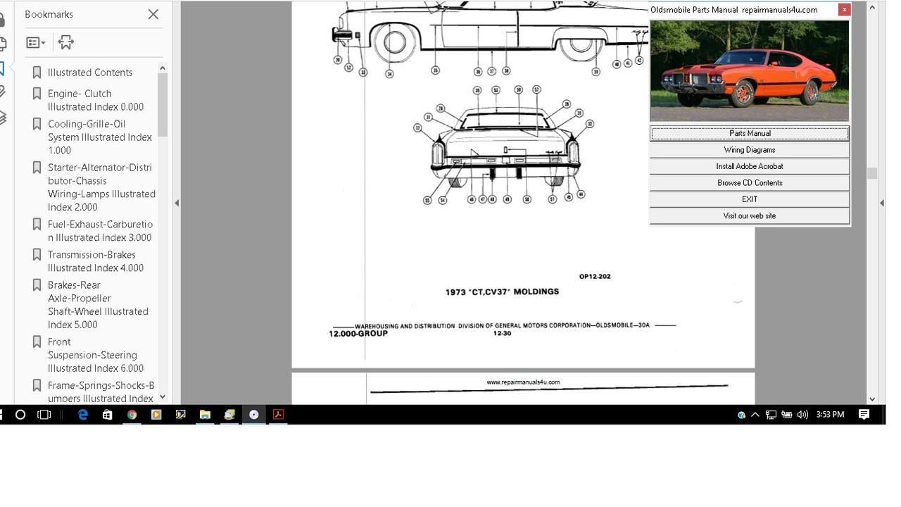 medium resolution of oldsmobile 1969 service manual manual cutlass 98 88 wagon f85 442 delta 2002 oldsmobile bravada parts