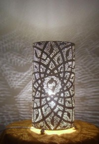Moroccan Lighting | Morrocan Lamps | Brass Table Lamps - E ...