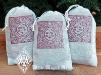 Dream Pillow Muslin Pouches for Dreamtime and Astral