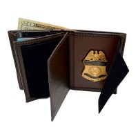 Brown Badge Wallets Now Available - JR Boutique