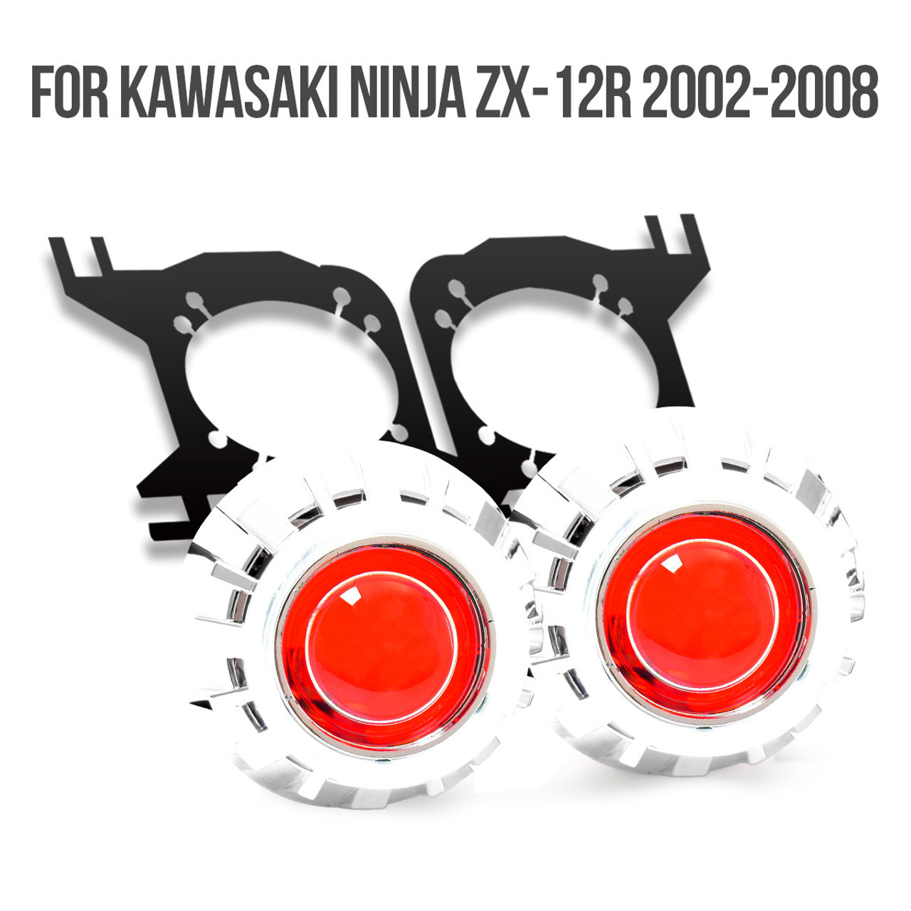 medium resolution of 2002 2003 2004 2005 2006 2007 2008 kawasaki ninja zx12r projector kit