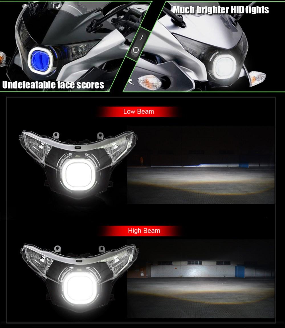medium resolution of  honda cbr250r led headlight 2011 2016
