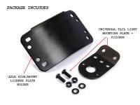 Black Number Plate Holder & Registration Plate Holders Sc ...