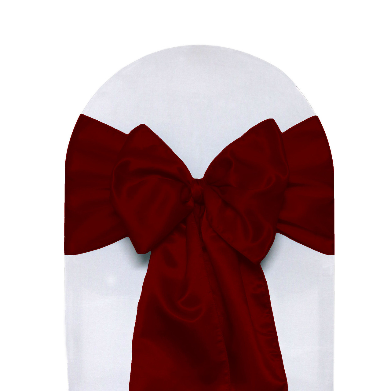 dark red chair sashes spandex covers to buy satin pack of 10 your inc