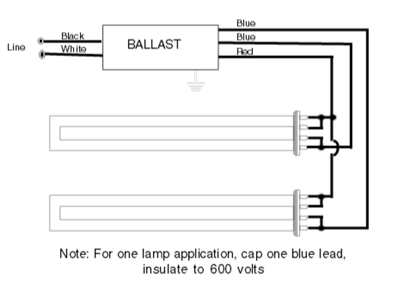 Wiring Diagram For 277v Lighting C240si277rh Universal Electronic Compact Fluorescent 40w