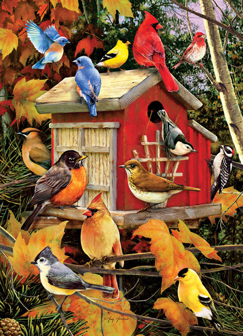 Fall Birds 1000pc Jigsaw Puzzle By Cobble Hill