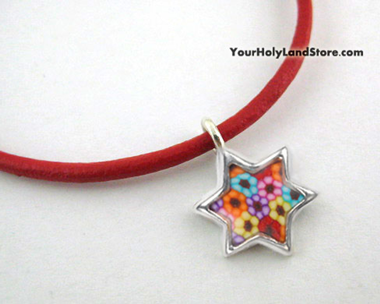Thousand Flowers Kabbalah Protection Bracelet With Star Of