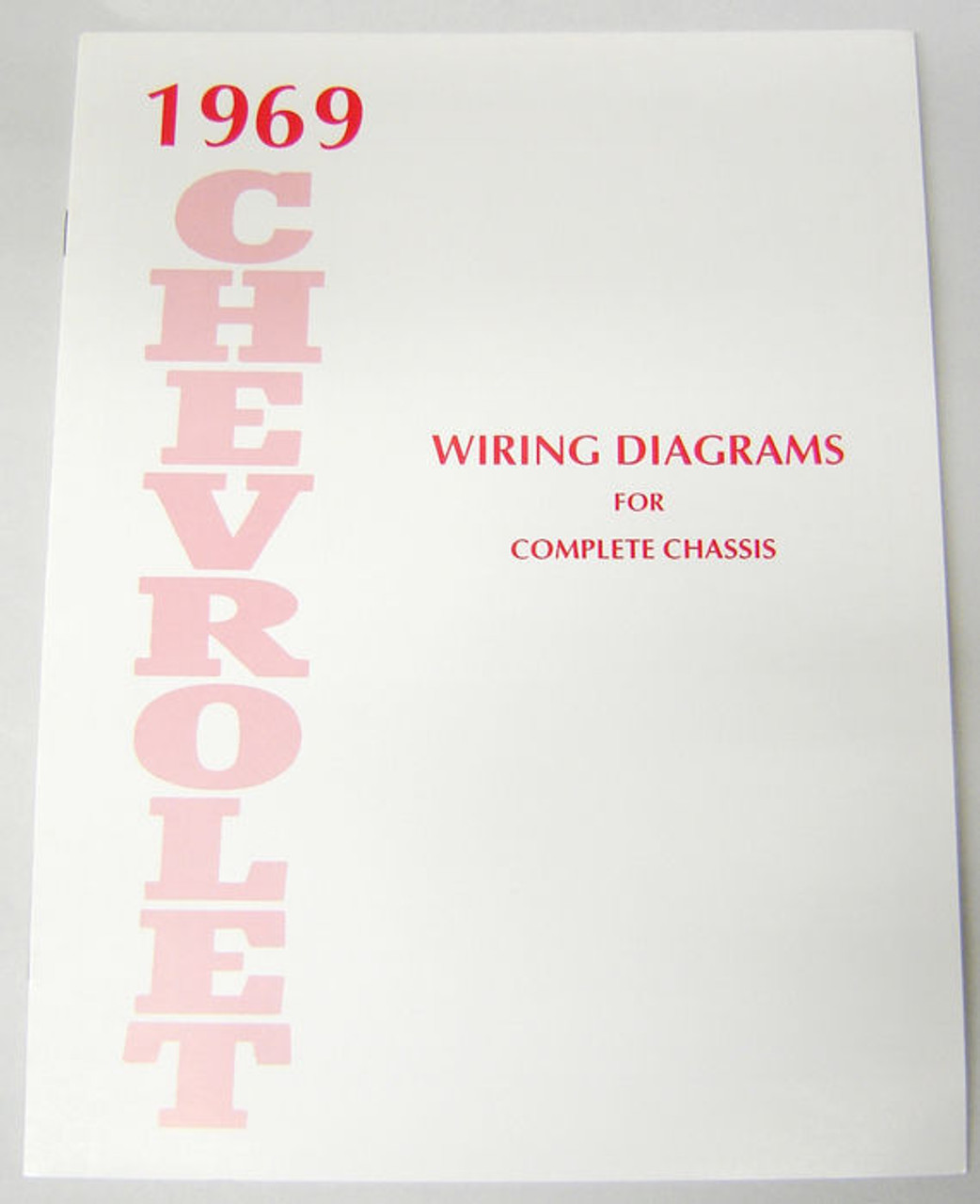 hight resolution of 69 1969 chevelle el camino electrical wiring diagram manual