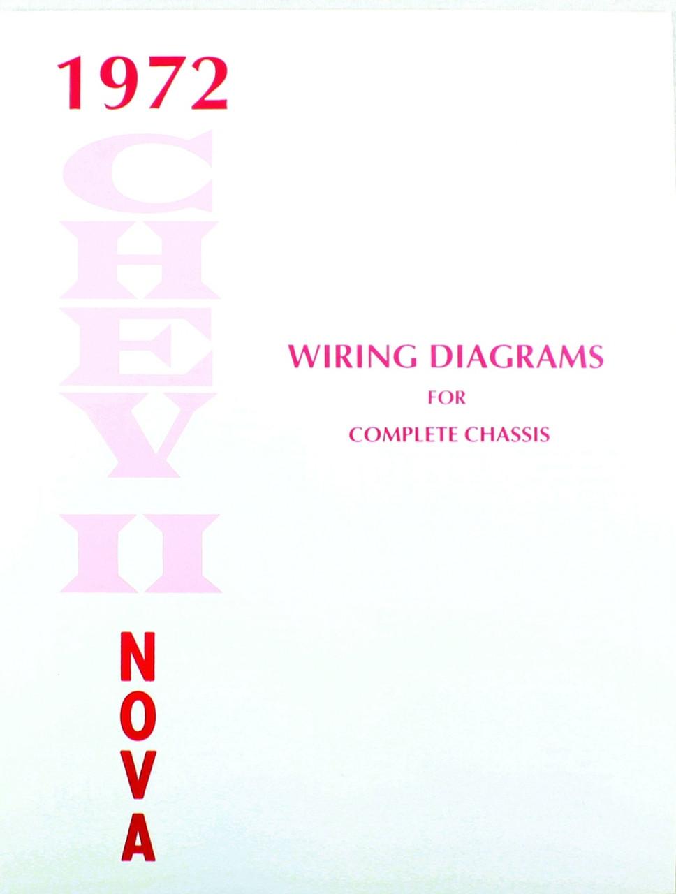 medium resolution of 72 1972 chevy nova electrical wiring diagram manual i 5 classic chevy rh i5chevy com 1969