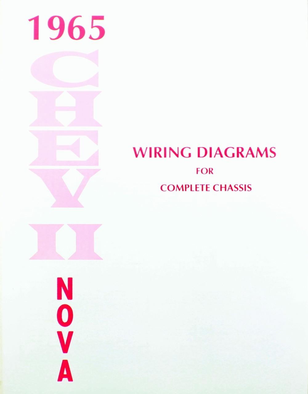 65 1965 chevy nova electrical wiring diagram manual [ 1000 x 1280 Pixel ]