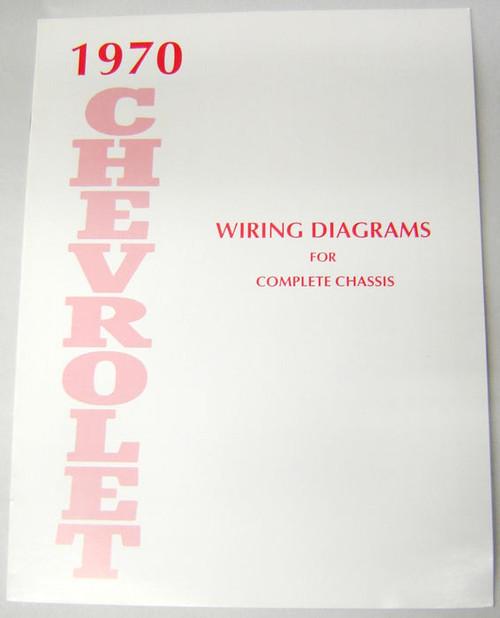 70 1970 Chevy Impala Electrical Wiring Diagram Manual  I