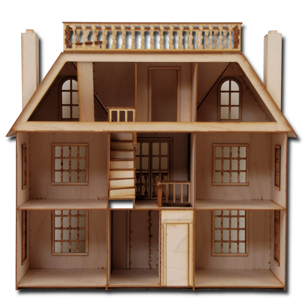 scale van buren dollhouse