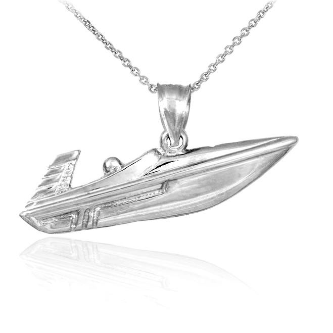 Boat Pendants  Gold Boat Pendants Silver Boat Pendants