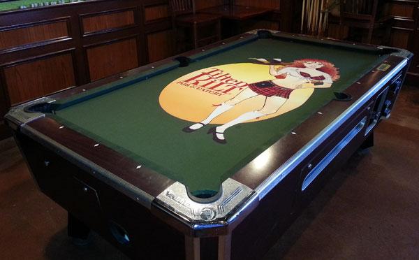 Custom Pool Table Felt Designs Cuesight Com