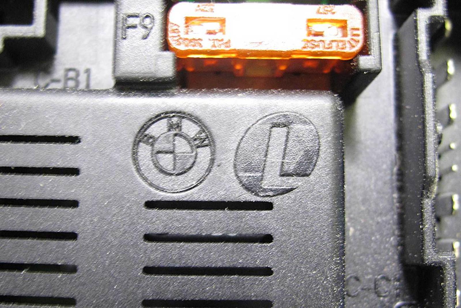 medium resolution of bmw z4 x3 3 0i under hood fuse box electrical distribution module bmw