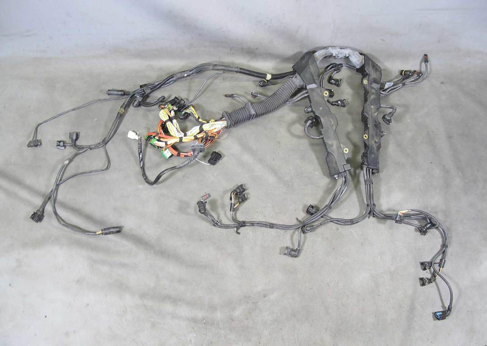 small resolution of bmw e60 550i e63 650i n62tu 4 8l engine wiring harness manual transmission oem