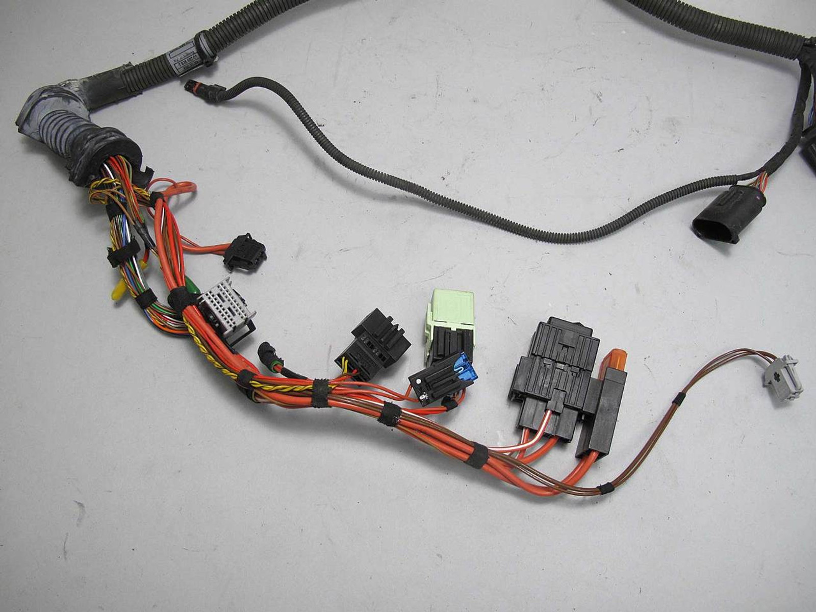 hight resolution of bmw e60 m5 e63 m6 smg sequential manual transmission wiring harness bmw
