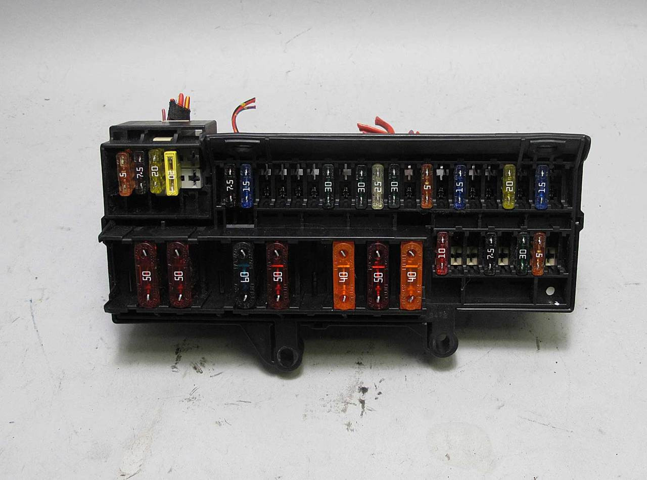 hight resolution of bmw e65 e66 7 series front glove box dashboard fuse box panel 2002 bmw