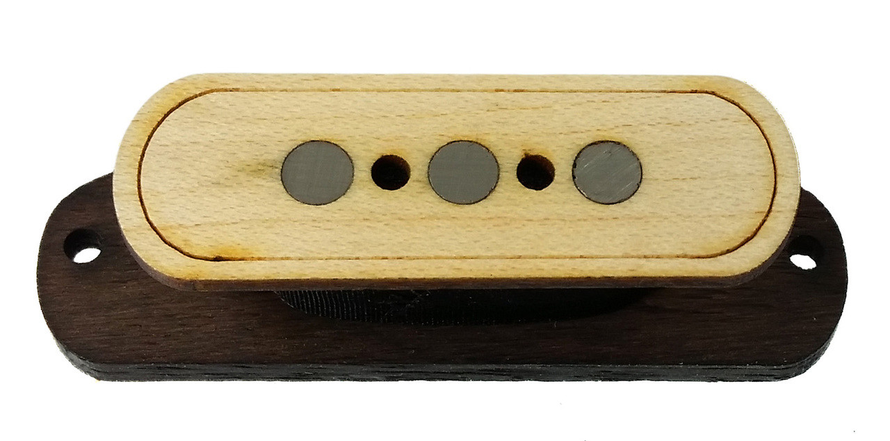 electric delta 3 pole electric cigar box guitar pickup by foundry tone  [ 1280 x 634 Pixel ]
