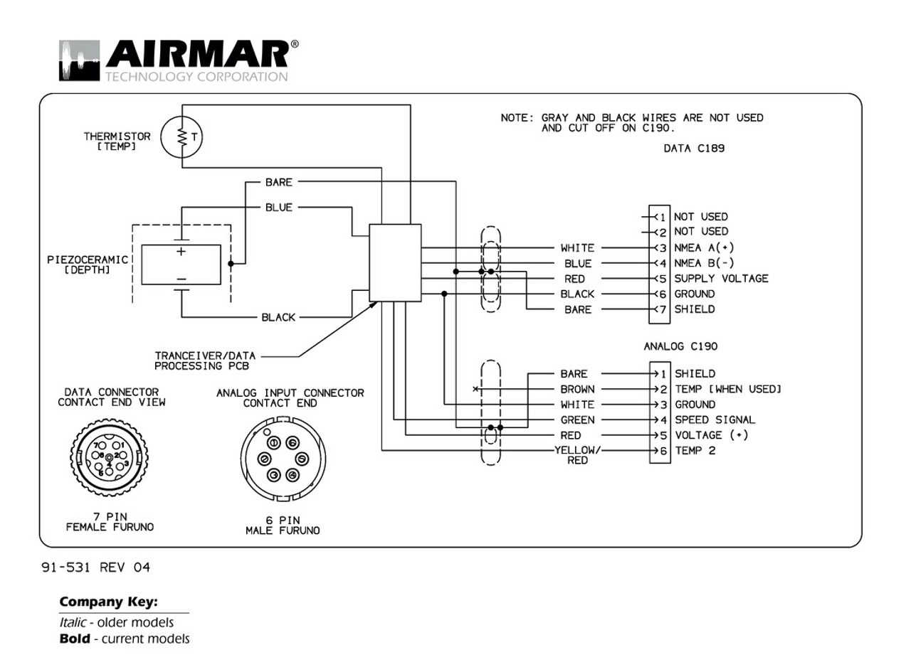 hight resolution of furuno nmea 0183 smart transducers with speed input airmar wiring diagram
