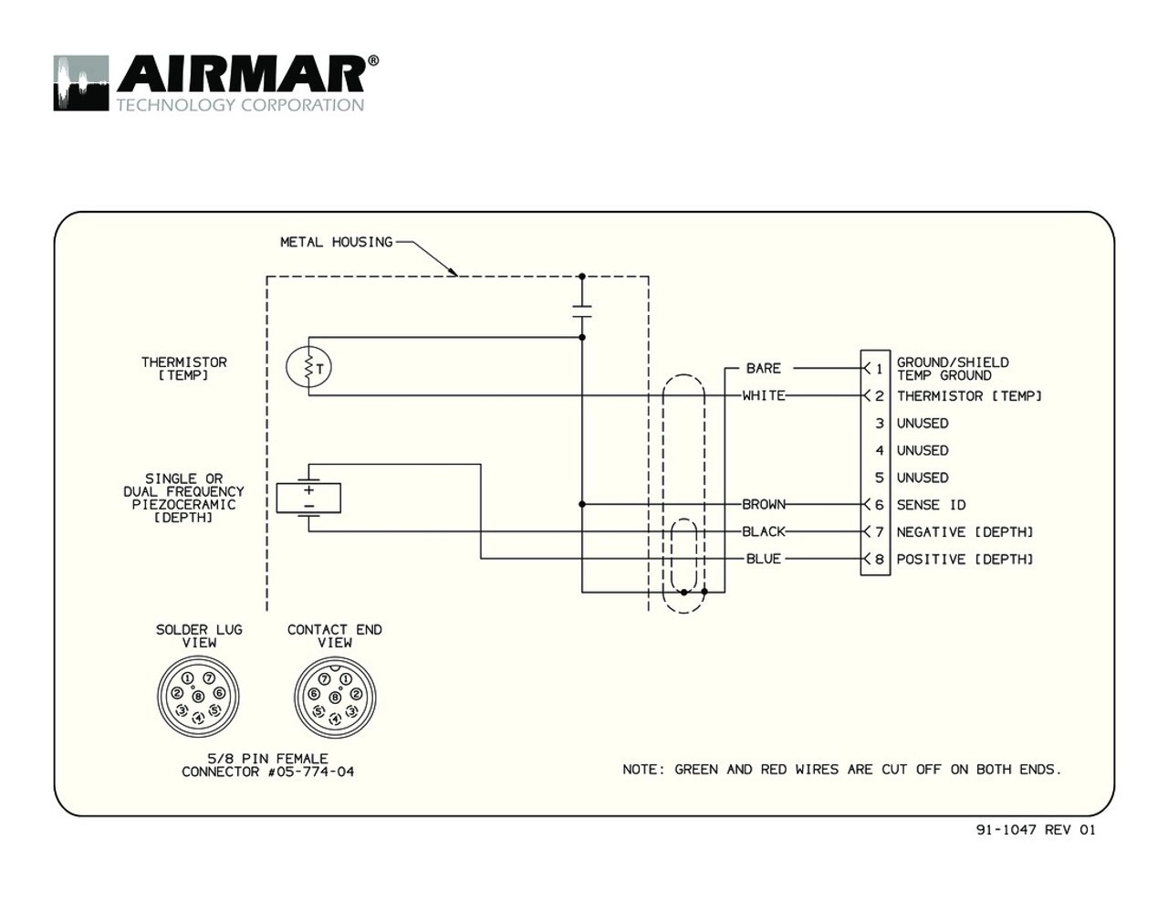 medium resolution of depth temperature b117 transducers with garmin 8 pin connector airmar wiring diagram