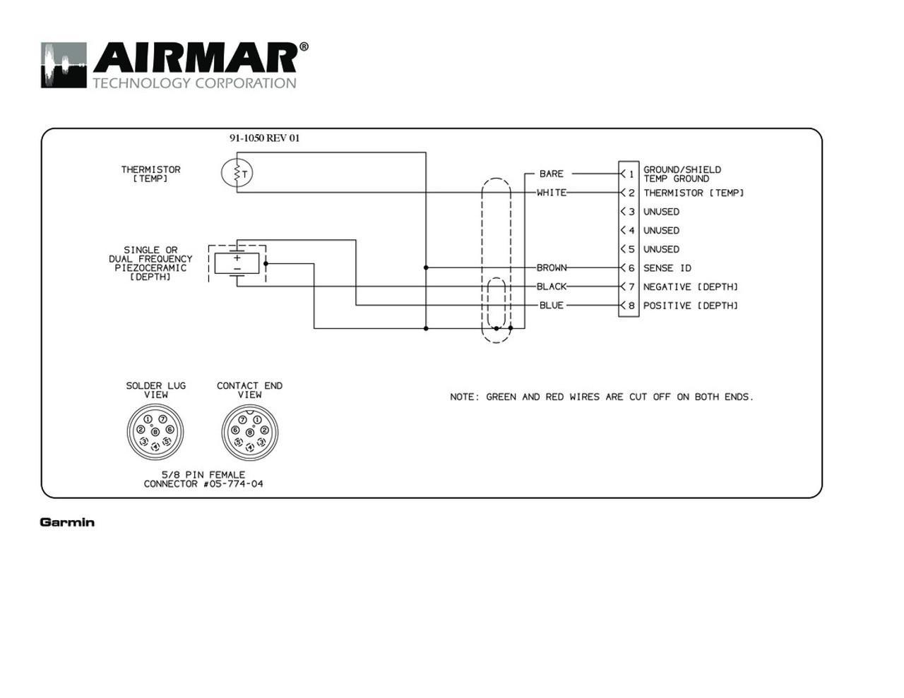 airmar wiring diagram garmin p319 8 pin d t blue bottle marine rh bluebottlemarine com 7 pin wiring diagram trailer 7 pin wiring diagram pdf [ 1100 x 850 Pixel ]