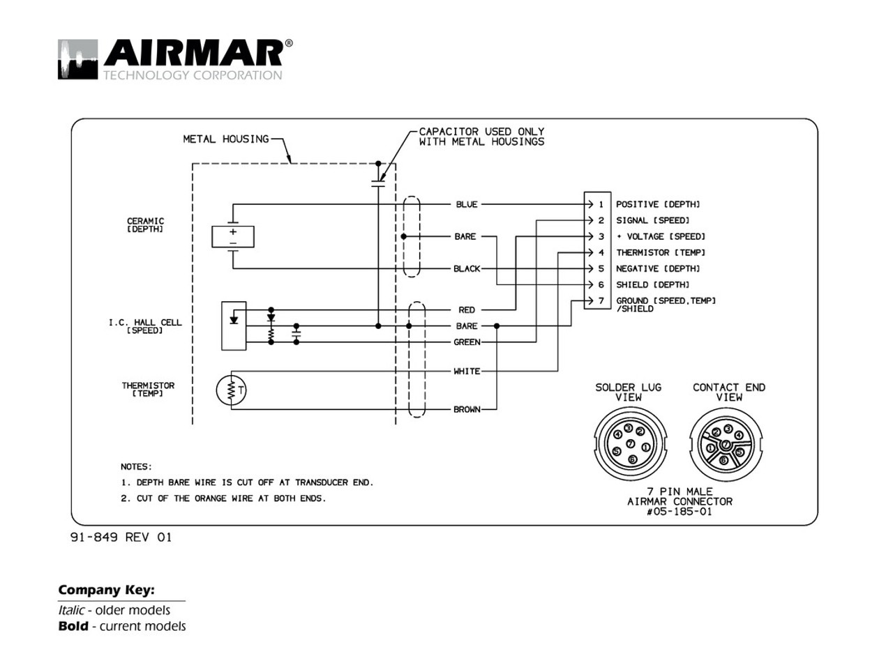hight resolution of 7 pin wiring diagram for a lowrance transducer