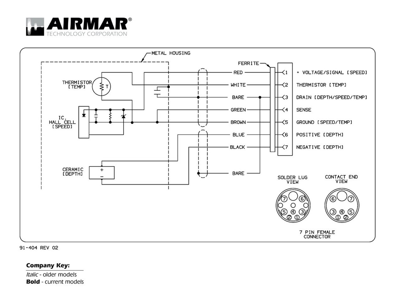 medium resolution of airmar wiring diagram raymarine dsm300 7 pin blue bottle marine tachometer wiring 3 pin transducer wiring