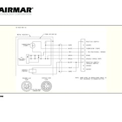 P58 Transducer Wiring Diagram Single Phase Motor With Capacitor Forward And Reverse Airmar Raymarine A Series 9 Pin Blue