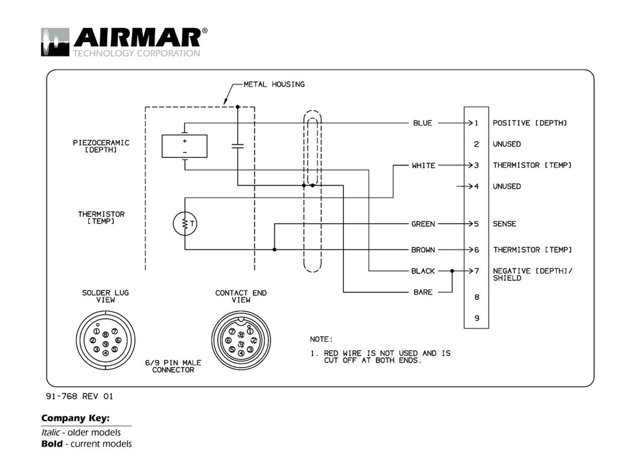 airmar wiring diagram raymarine 6 9 pin blue bottle marine usb wiring diagram 9 pin wiring [ 1100 x 800 Pixel ]