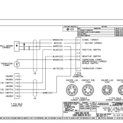 P58 Transducer Wiring Diagram Dc Motor Airmar Simrad St650 7 Pin Blue Bottle Marine