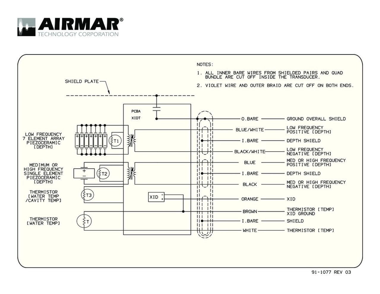 medium resolution of airmar wiring diagram cm265 cm275 blue bottle marine airmar transducer s63 ls airmar transducer wiring diagram