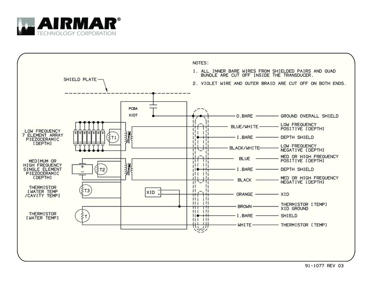 small resolution of airmar wiring diagram cm265 cm275 blue bottle marine airmar transducer s63 ls airmar transducer wiring diagram