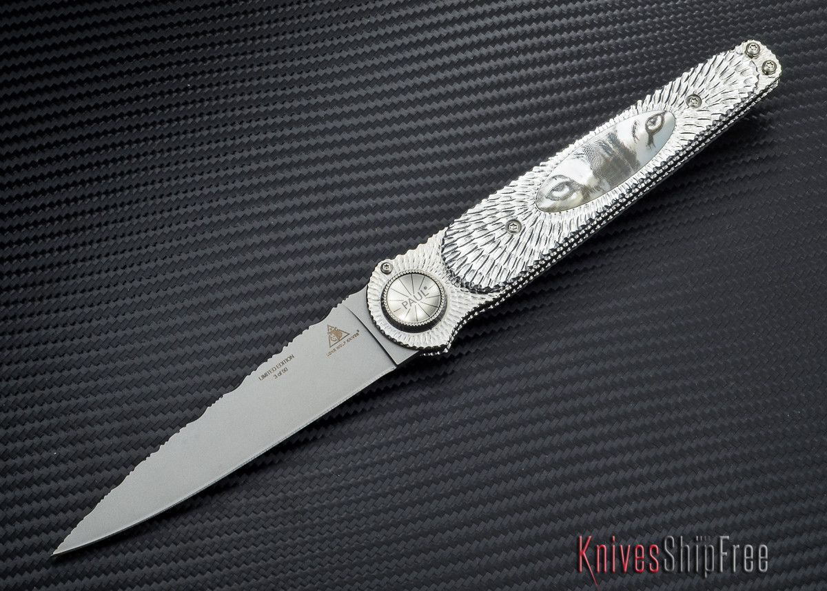 Lone Wolf Knives Paul Defender - Eyes Limited