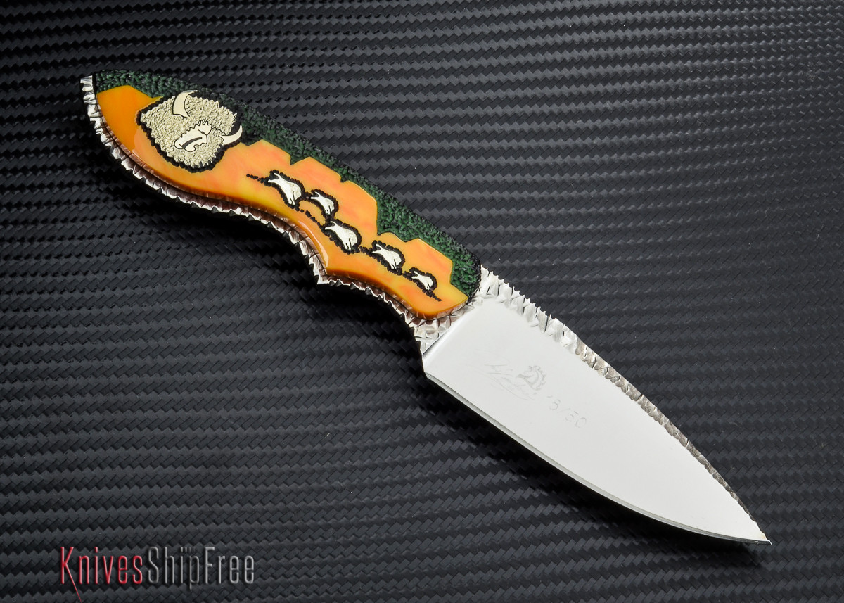 Lone Wolf Knives Great Buffalo Hunter - Xc24430 #18