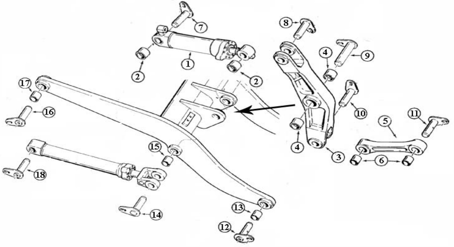 hight resolution of john deere wheel loader pins bushings jpg