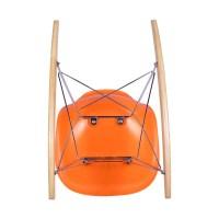 Orange Eames Rocking Chair Replica - Austin Furniture ...
