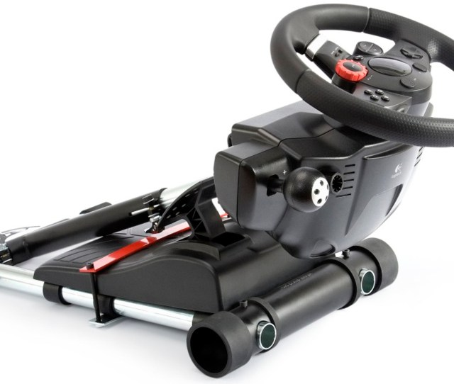 Wheel Stand Pro V2 Racing Steering Wheelstand For Logitech Driving Force Gt Pro Ex