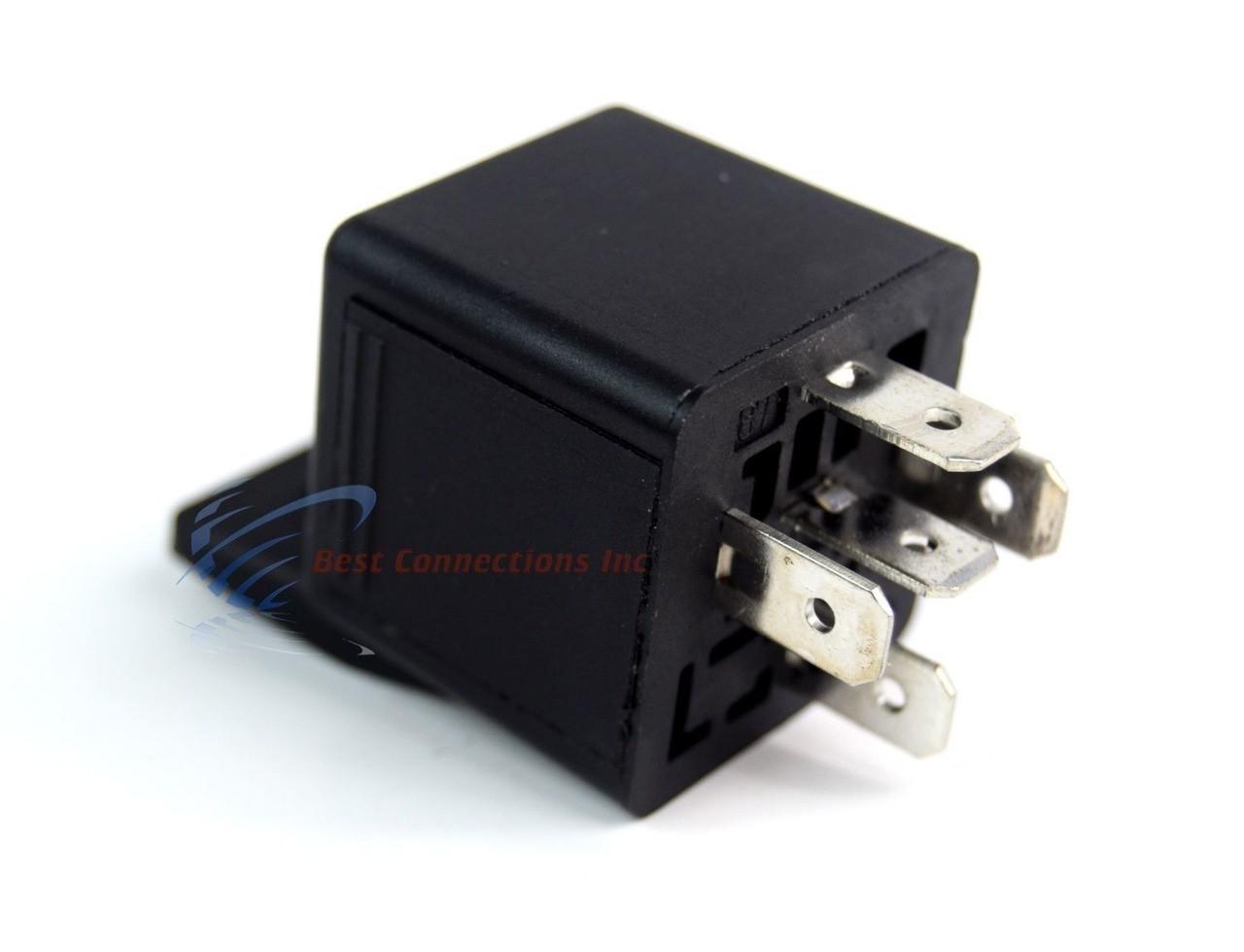5 Pack Audiopipe 12 Volt 5 Pin SPDT 30