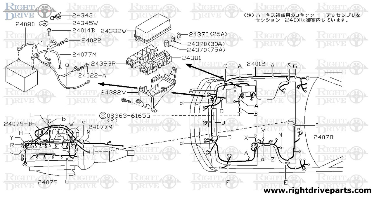 nissan skyline r32 wiring diagram