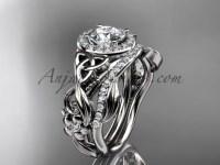 Celtic Wedding Ring Sets White Gold Diamond Ring CT7300S