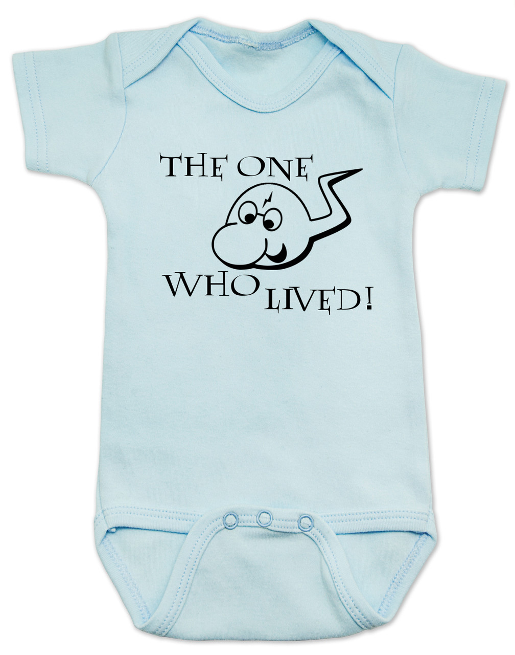 The One Who Lived Harry Potter Baby Bodysuit