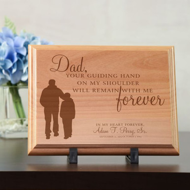 Dad Memorial Plaque  Personalized Memorial Plaque