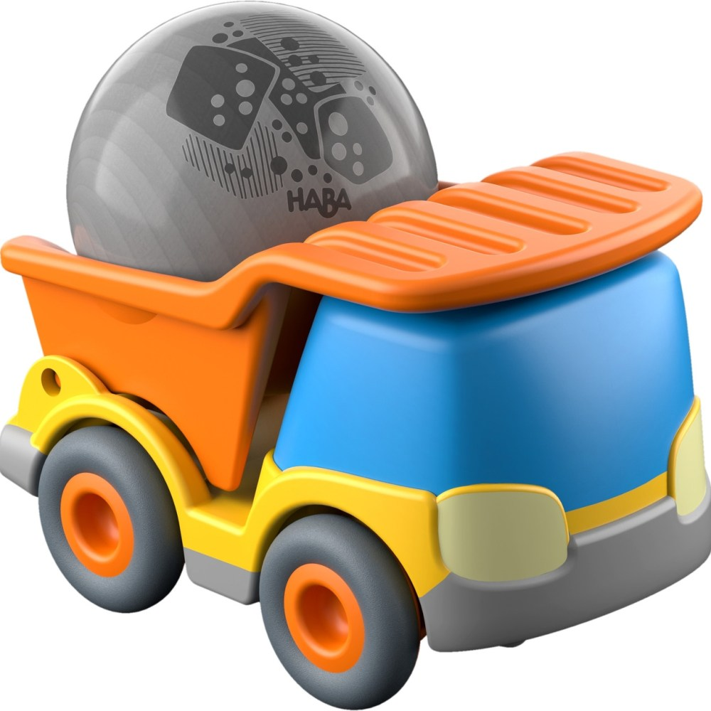 Kullerbu Construction Site Set: This Kullerbu set features an awesome construction site section. In which a loader can push the ball along the track, thanks to a momentum motor, and down the construction site into the waiting dump truck.