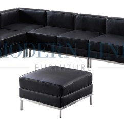 Custom Sectional Sofa Laptop Desk St002 Le Corbusier Style With Ottoman 800 637 5596