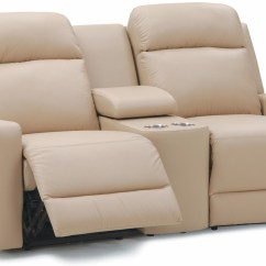 Right Arm Sleeper Sofa Sectional Chaise Palliser Leather Recliner -model:forest Hill 41032 ...