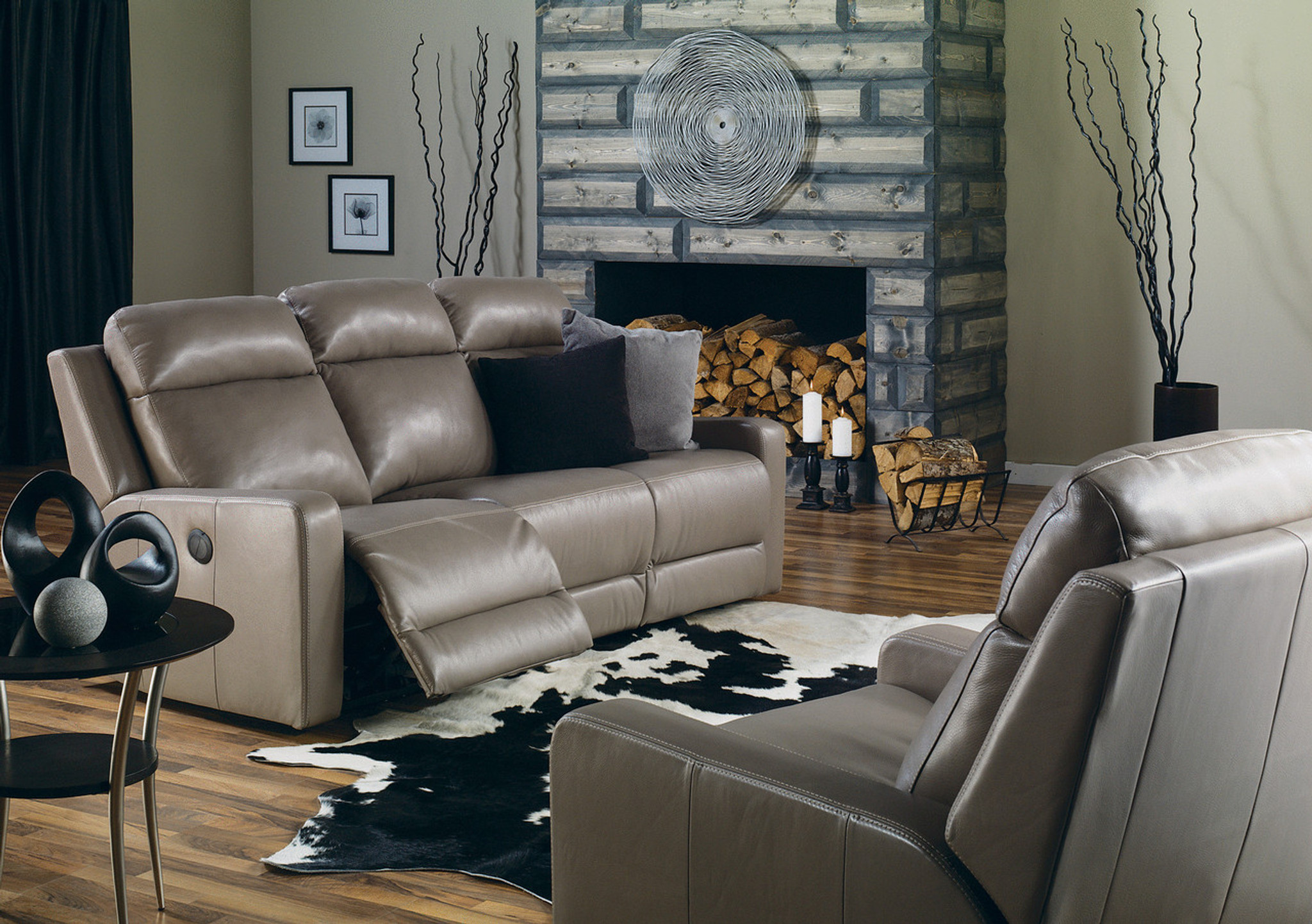 Palliser Leather Recliner Sofa ModelForest Hill 41032